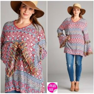 Whats cuter than a Boho Tunic in Plus Size?!